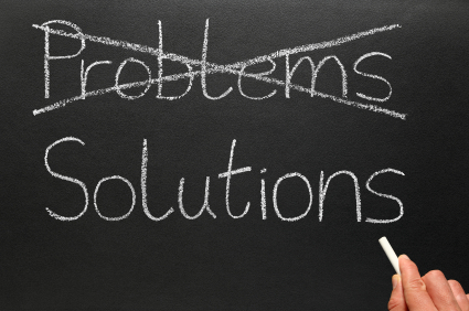 Problems of resolution and solution