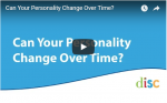 Does Your Personality Style Change Over Time?